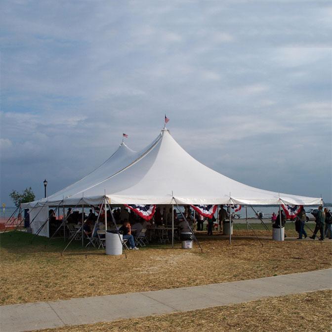 40x60 High Peak Pole Tent - Premiere I Series